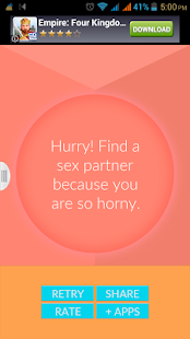 Sexual Mood Scanner