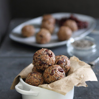 Chia Cherry Crunch Bites