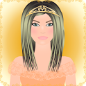 princess dress up games icon