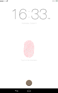 Lock screen: IPhone 5s Finger - screenshot thumbnail
