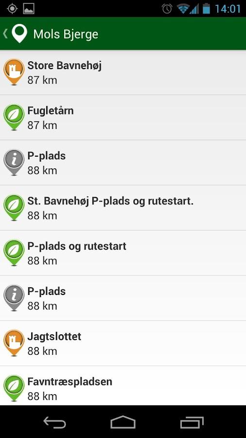 Nationalpark Mols Bjerge- screenshot