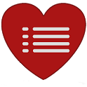 Heart Blood Pressure Log Trial icon