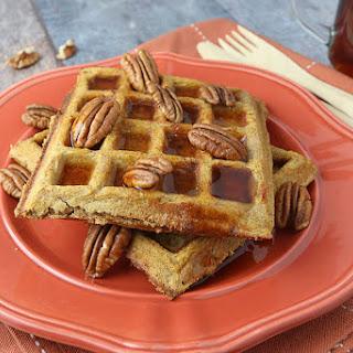 Pumpkin Pie Spiced Waffles