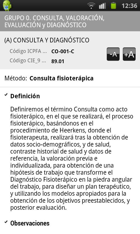 Guia de Actos Fisioterapicos- screenshot