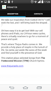 Thejus Radio.- screenshot thumbnail