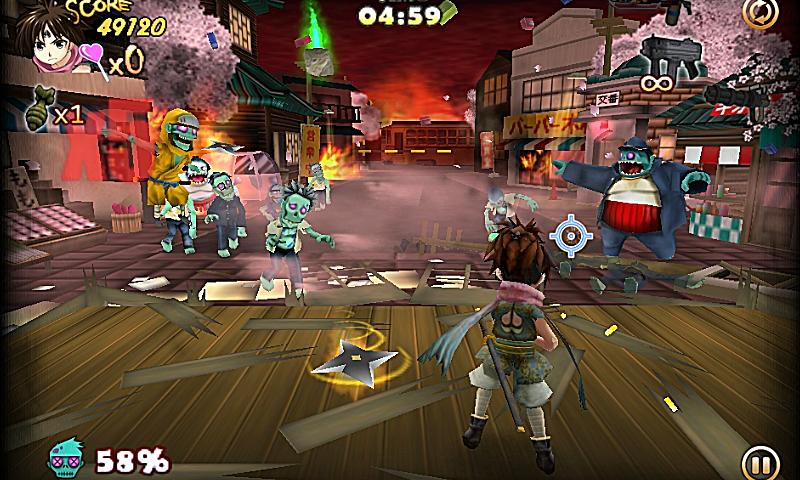 ZombiePanic in Wonderland PLUS - screenshot