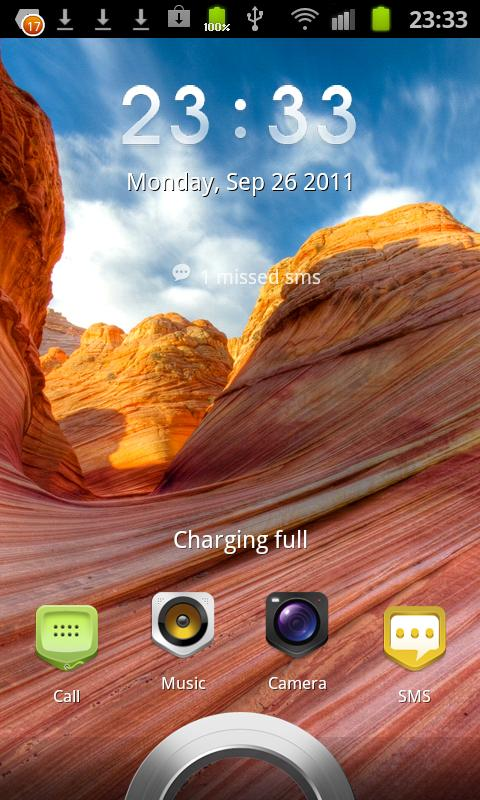 Sense 3.0 - Magic Locker Theme - screenshot