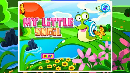 宝贝儿照顾小蜗牛