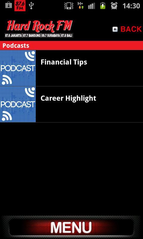 Hard Rock FM- screenshot