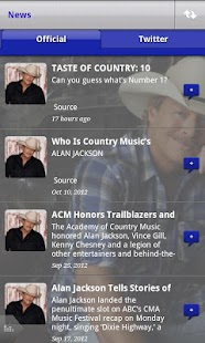 Official Alan Jackson App - screenshot thumbnail