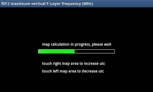 E-F-Layer frequency and height screenshot
