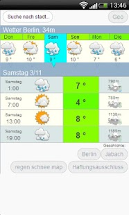 Das wetter meteo .com Deutsch - screenshot thumbnail