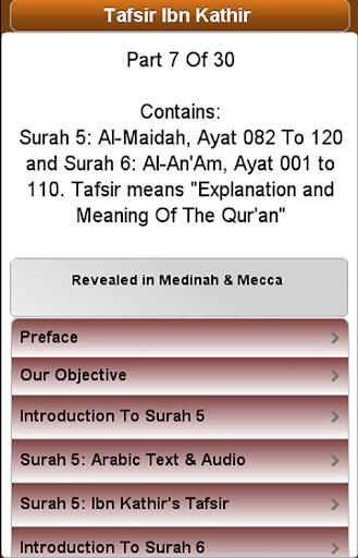 Ibn Kathir's Tafsir: Part 7