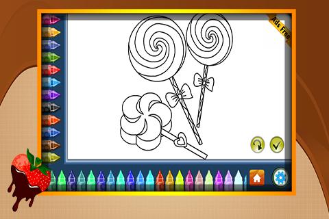 Coloring Book Chocolates 1.6.0 screenshots 2