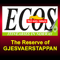 The Gjesvaerstappan Reserve logo