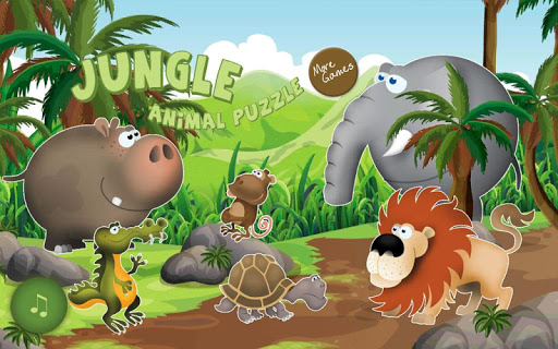 Jungle Animal Puzzle for kid