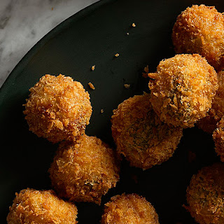 Ricotta and Sage Fried Meatballs.