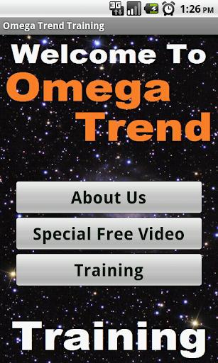 Struggling in Omega Trend Biz