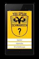 Screenshot of You Speak Schwäbisch?