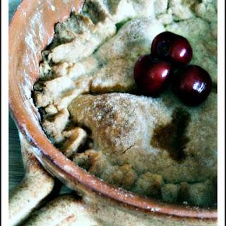 Porto Flavored Cherry Pie.