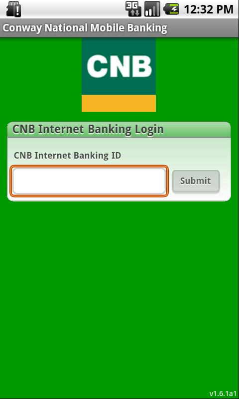 Conway National Mobile Banking - screenshot