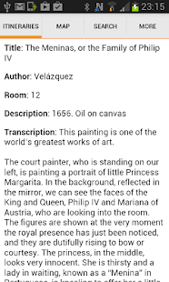 Prado Museum - Madrid- screenshot thumbnail
