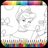 Colorear Princesa