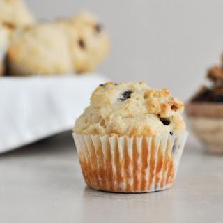 Low-Fat Cranberry Walnut Muffins.