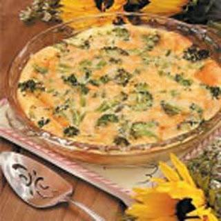 Broccoli Sausage Breakfast Bake