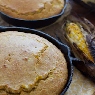 Grilled Corn Cast Iron Skillet Corn Bread