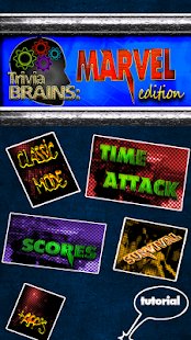 Trivia Brains Marvel Edition - screenshot thumbnail