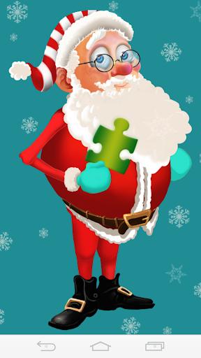 クリスマスゲームジグソーパズル