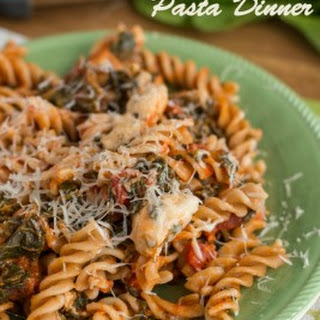 Easy Chicken with Pasta Dinner