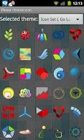 Screenshot of Icon Set L Go Launcher EX