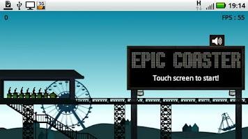 Screenshot of Epic Coaster