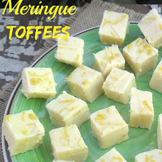 LEMON MERINGUE TOFFEES