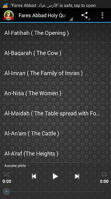 Fares Abbad Quran Mp3 - screenshot