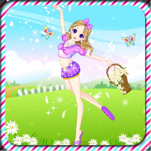 跳舞的女孩打扮 休閒 App LOGO-硬是要APP
