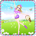 Dancing Girl Dress Up icon