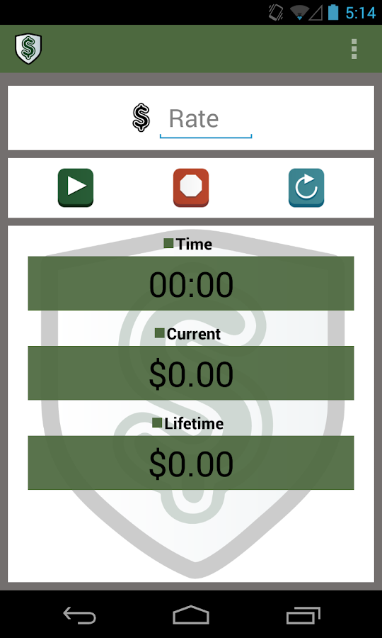 Wage Calculator - screenshot