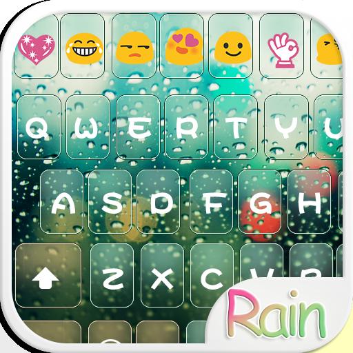 Glass Water Keyboard Theme