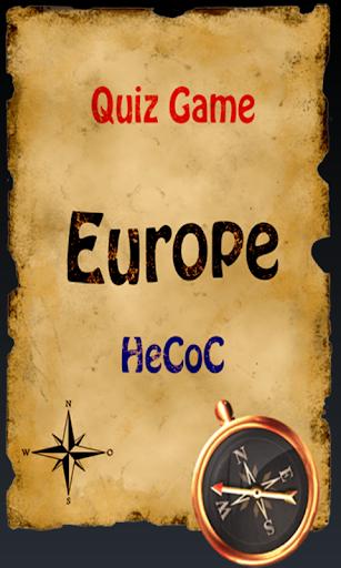 地理クイズ:ヨーロッパ