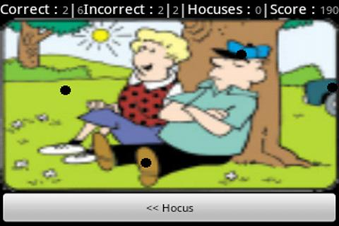 Hocus Focus- screenshot