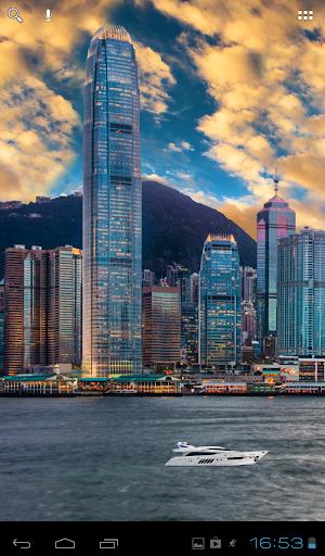 香港城市動態壁紙
