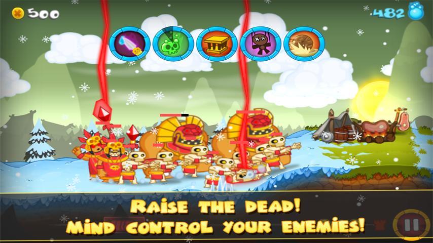 Swords and Soldiers screenshot #2