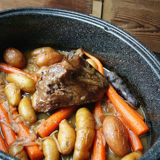 Classic Pot Roast With Carrots & Fingerling Potatoes