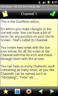 CoolNote - screenshot thumbnail