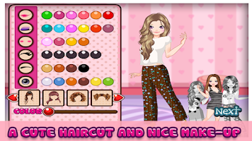 Screenshot of Pajama Party– Girl Games