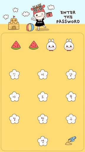 【免費個人化App】삐삐 니코와 피망이의 여름 카카오톡 테마-APP點子