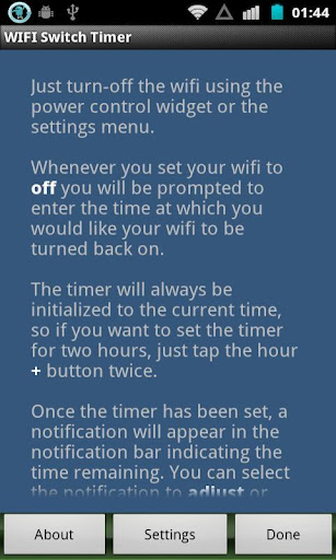 WIFI Switch Timer